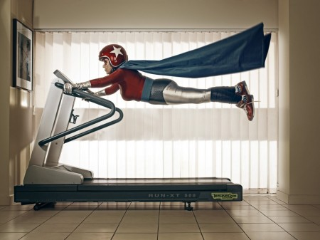 Sue hits the treadmill!